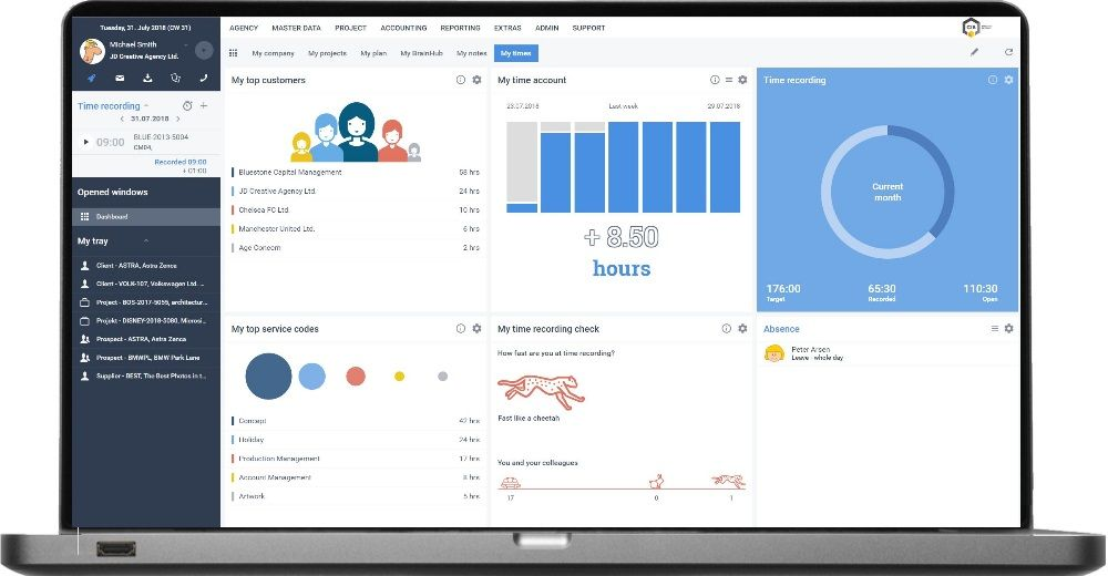 New customizable dashboards