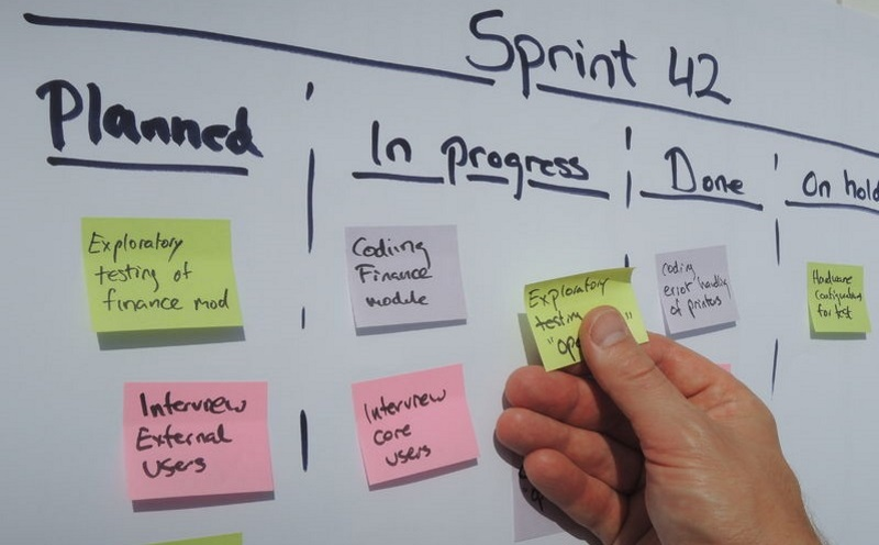 Work with Scrum