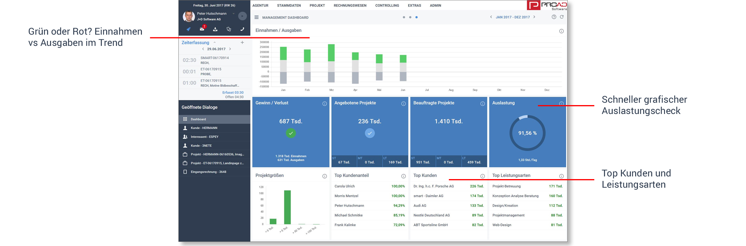 Screenshot Management Dashboard